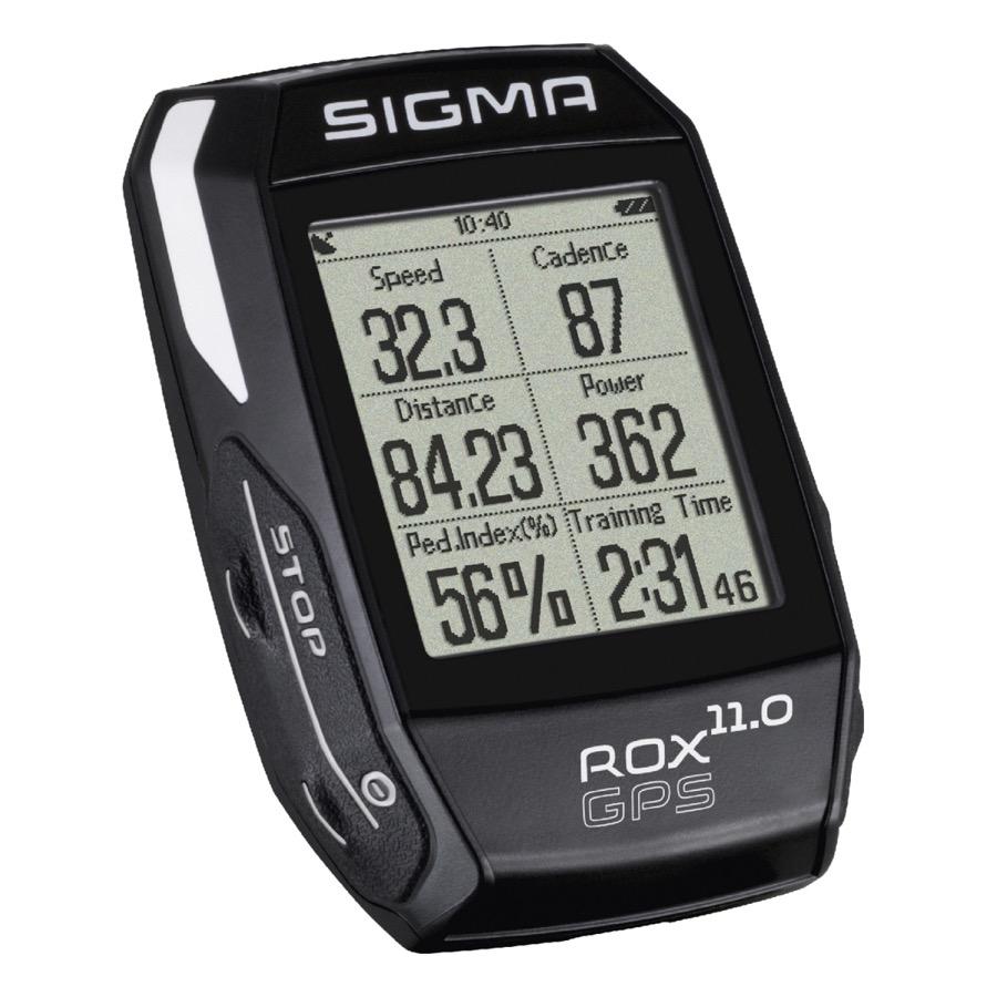 Novinka - bezdrôtový tachometer SIGMA ROX GPS 11.0 s navigáciou
