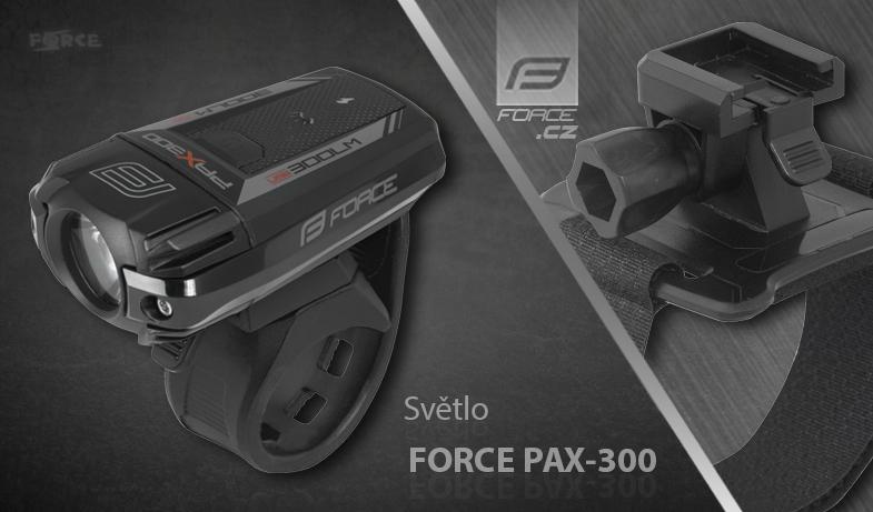 Predné svetlo Force PAX-300