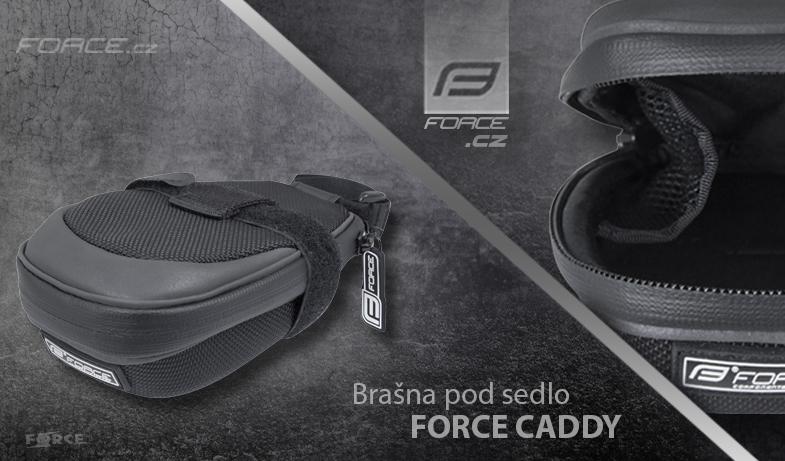 Nová taška pod sedlo FORCE CADDY