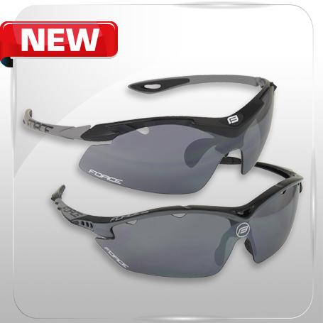 Obľúbené modely okuliarov FORCE RON a FORCE DUKE kompletne v čiernom prevedení