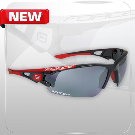 Kvalitné cyklistické okuliare s polykarbonátovými sklami FORCE CALIBRE f4c64f44204