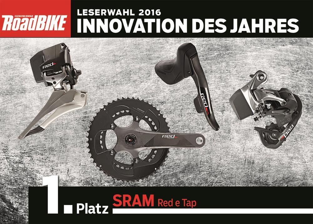 Inovácia roka SRAM RED eTap
